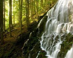 Ramona Falls, Clackamas County, Oregon