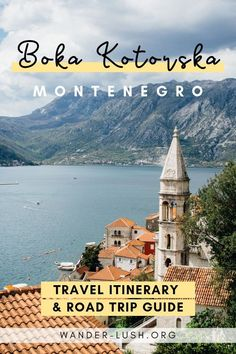 Home to glorious mountains, charming old towns and one of the most sublime stretches of coastline in the Balkans, Montenegro is a great place for a road trip. My one week Montenegro road trip…More Europe Travel Guide, Travel Destinations, Travel Guides, Travel Abroad, Montenegro Travel, Montenegro Kotor, European Destination, European Travel, Strand
