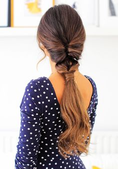 Cute Summer Ponytails with Luxy Hair <3 Super easy and beautiful hairstyle for the summer. #luxyhair #summerhair