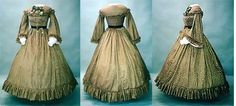 Patterns - Laughing Moon #111, Early 1860's Civil War Dress