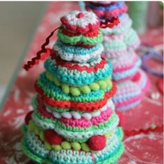 Crochet Christmass tree