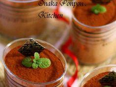 チョコレートオレオのムース♡コーヒー風味の画像