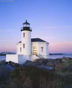 The Umpqua River lighthouse in one of my favorite coastal towns, Bandon, OR.