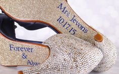 turquoise sparkle bridal shoes - Google Search