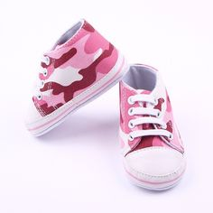 Baby Girl Camo Sneakers