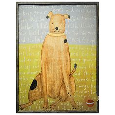 Sugarboo Designs Art Print Brown Boy Dog @Layla Grayce