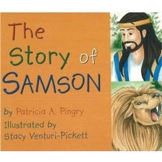 Samson board book.  I love this author for preschool Bible stories!