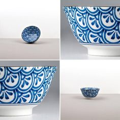 Tableware from Indigo Ikat will attract you with its hand painted blue pattern on white glazed background 👌🏻 we love it! Ikat, Glaze, Decorative Bowls, Indigo, Hand Painted, Tableware, Pattern, Home Decor, Enamel