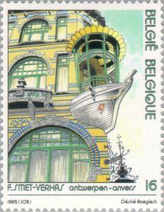 Issued in 1995, Belgium - Antwerpen