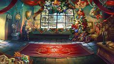 Christmas Theme Lobby - Adventurer's Inn | Dragon Blaze