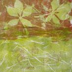 greeninthemiddle | mixed media. Autumn Gelli Prints.