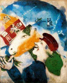 샤갈의 그림을 좋아하는 사람들 - Chagall