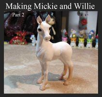 Making Mickie and Willie Part 2 by DragonsAndBeastie step by step photos