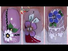 Nail Art Designs Videos, Nail Designs, Flower Nails, Girls Be Like, Margarita, Pedicure, Youtube, Nail Arts, Nail Bling