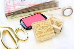 20 Travel Stamps To Try In Your Scrapbook Now