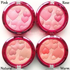 Physicians Formula Pink Warm Natural Rose Blush Swatches