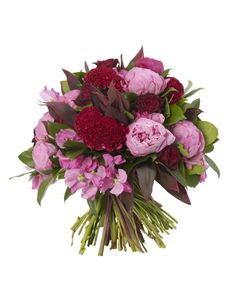 Celosia And Peonie Bouquet