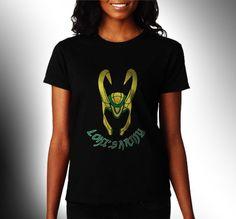 Lokis Army Avenger Women Black Shirt XS to 3XL Rare by CahyaAbadi, $23.50