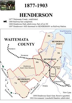 Railway line completed Henderson Park, Nz History, 29 March, How To Buy Land, Auckland, Train, Building, Maori, Buildings