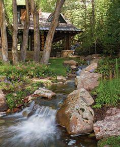 Image. Aspen, Co. Home...stunning backyard !!