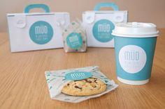 Mudcup packaging diseñado por  Beatrice Menis