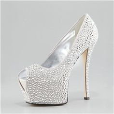 New Arrival Fashion Shinning Sexy Female Prom Shoes