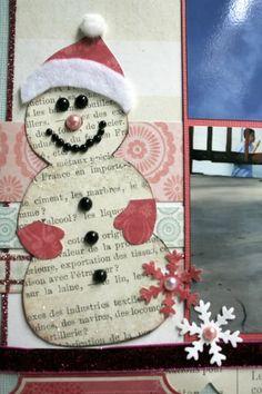 Sketch Support - cute snowman