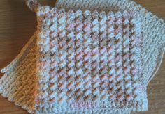Crochet pot holder free pattern use size H hook.