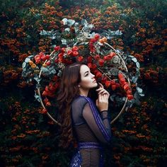 Nature and femininity, photography by Bella Kotak