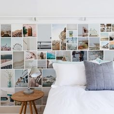 @thewallstickerc posted to Instagram: Photo Collage Removable Wall Mural - Buy Online Or Call (03) 8774 21.  Get an instant quote based on your wall size. Upload as many photos as you like and make your design selections!  #photocollage #removablewallmural #wallmural #australianmade #wallstickers #bpafree  #photoadayapril Removable Wall Murals, Removable Wall Stickers, Photo Wall Collage, Photo Collages, Traditional Wallpaper, Home Photo, Fabric Wallpaper, Photo Displays, Custom Design