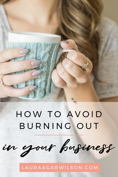 How to avoid burning out in your business - Laura Agar Wilson Creative Business, Business Tips, Online Business, Business Entrepreneur, Entrepreneur Ideas, Business Organization, Business Motivation, How To Stay Motivated, Starting A Business