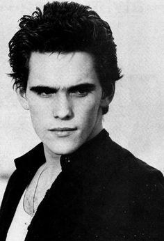 I love this one of Matt. I think He looks kind of like Robert Patterson.