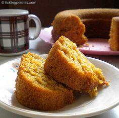 Eggless Orange Tea Cake