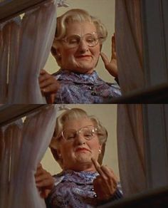 """Oh, sir. I saw it! Some angry member of the kitchen staff, Did you not tip them? Oh, the terrorists! They ran that way. It was a run-by fruiting. I'll get them, sir. Don't worry."" Mrs. Doubtfire (1993)"