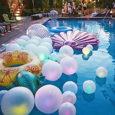Pool parties are among my favorites since they're always a huge hit. A pool party cuts back on the demand for lots of decor to start with. Your pool party will produce a big splash with everyone. You don't require… Continue Reading → Summer Vibes, Summer Fun, Party Summer, Summer Goals, Hello Summer, Summer Beach, Sommer Pool Party, Mermaid Parties, Festa Party