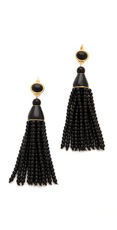 Kenneth Jay Lane Beaded Tassel Earrings |SHOPBOP | Save up to 25% Use Code BIGEVENT13