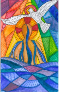 pentecost flame dove