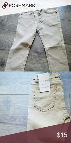 Boys pants Khaki skinny jeans ,new with tags Bottoms Jeans