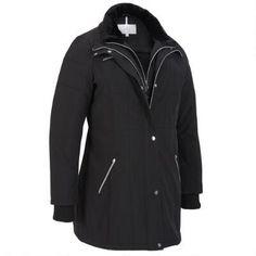 Plus Size Jessica Simpson Walker w/Faux Fur Face Collar  #Win #Giveaway #WLDreamFallWardrobe