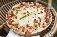 Kasvispiiras Quiche, Pie, Tasty, Baking, Drinks, Breakfast, Desserts, Food, Torte