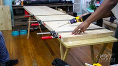 How to build a wood storage cabinet in 9 steps - simply handmade studios Diy Projects Plans, Wood Shop Projects, Diy Furniture Projects, Woodworking Projects Diy, Furniture Plans, Backyard Projects, Project Ideas, Garage Storage Cabinets, Built In Cabinets