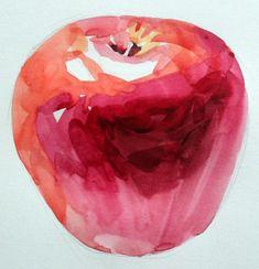 남일 수채화 Gallery Watercolour Painting, Still Life, Art For Kids, Candle Holders, Candles, Apple, Fruit, Drawings, Artwork