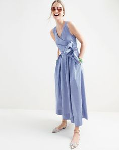 J.Crew women's Collection Thomas Mason® for J.Crew gingham dress. In crisp cotton from the European mill that's been making some of the world's finest shirting since 1796. And just to put that in perspective: George Washington was alive then.