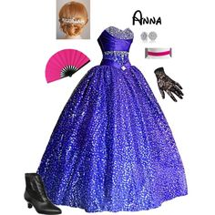 Designer Clothes, Shoes & Bags for Women Princess Inspired Outfits, Disney Princess Outfits, Disney Inspired Fashion, Disney Dresses, Disney Clothes, Pretty Quinceanera Dresses, Pretty Dresses, Beautiful Gowns, Beautiful Outfits