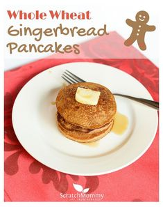 Whole Wheat Gingerbread Pancakes (truly light and fluffy and delicious ...