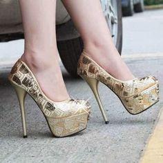 Zapatos de moda multicolores | Increibles zapatos de mujer estampados 2015