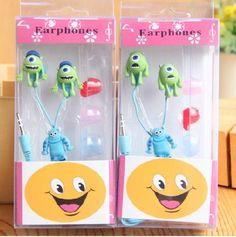 Monsters University Cute Cartoon Headphone Cartoon Earphone , 3.5mm In-Ear Earphone,Earpiece headset  Monsters University  $8.90