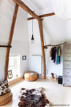 children's room in natural materials