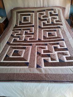 Maze Quilt Quilt Inspiration Pinterest Maze