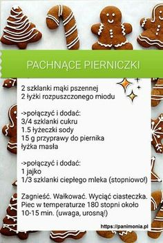 Przepisy Eye Makeup eye makeup using urban decay 3 Christmas Dishes, Christmas Cookies, Baking Recipes, Dessert Recipes, Desserts, Cookie Time, Polish Recipes, Diy Food, No Bake Cake